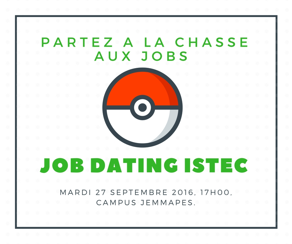 JOB DATING ISTEC