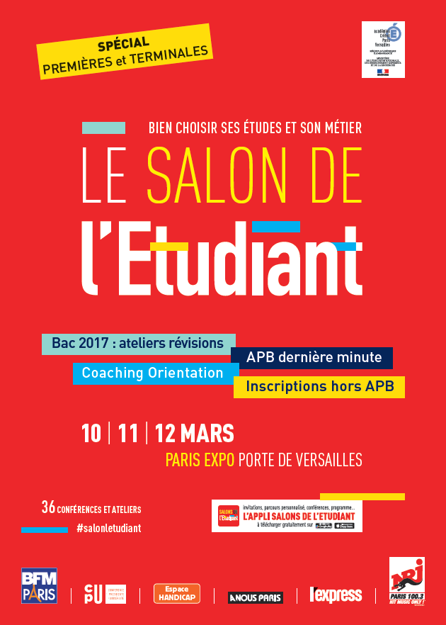 L 39 istec au salon de l 39 etudiant paris istec for Porte ouverte salon de l etudiant