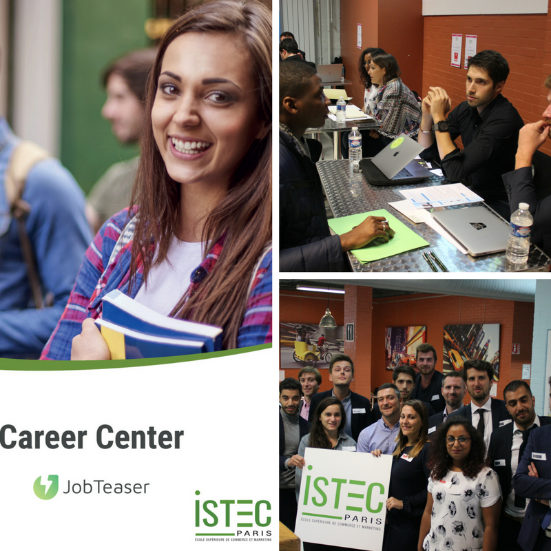 Lancement du nouveau Career Center ISTEC by JobTeaser